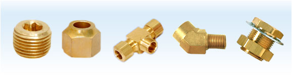 Brass Fitting Parts, Brass Parts